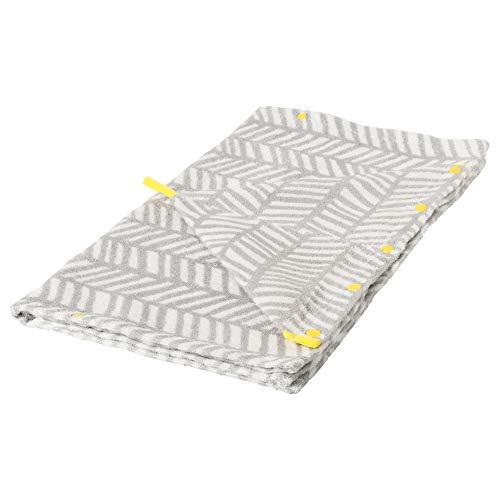 IKEA 603.731.86 Handdoek met capuchon, grijs, geel