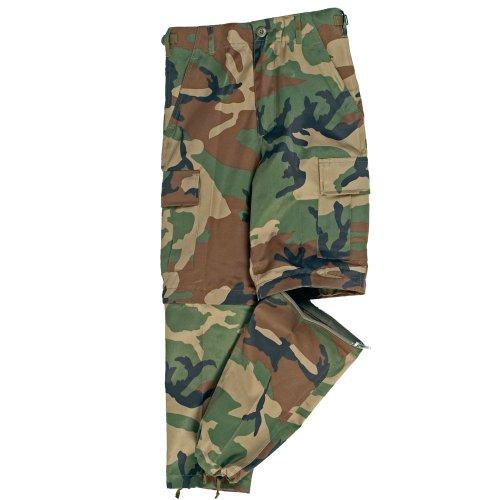 Mil-Tec uS BDU pour Femme Zip-Off Pantalon de Camouflage-Taille XL