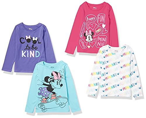 Spotted Zebra Disney Star Wars Marvel Frozen Princess Long-Sleeve T-Shirt, 4er-P...