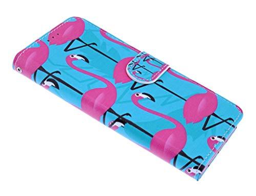 Flamingo Design BookType/Portemonnee TPU Hoesje Samsung Galaxy S9