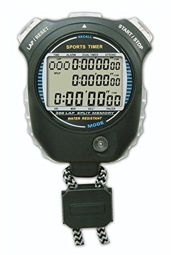 Nuoto sport formazione di 999lap 300memorie sport timer cronometro