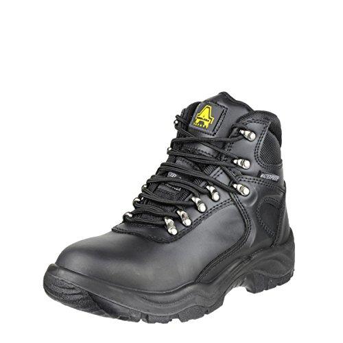 Chaussures montantes de sécurité Amblers Steel FS218 pour femme (36 EUR) (Noir)