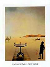Posters: Salvador Dali Poster Art Print - Sun Table (12 x 9 inches)