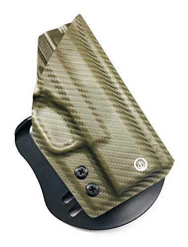 Neptune Concealment OWB Kydex Gun Holster for CZ 75D PCR Compact - Chronos Series - Veteran Made USA