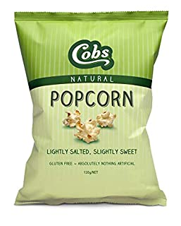 Cobs Popcorn Natural Slightly Sweet Slightly Salty 120g (B07J231GQ5) | Amazon price tracker / tracking, Amazon price history charts, Amazon price watches, Amazon price drop alerts