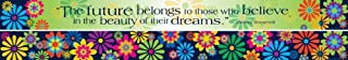 Barker Creek - Office Products Double-Sided Bulletin Board Border with Motivational Quote, 35' (LL-959)
