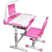 Allasfun Kids Desk and Chair Set