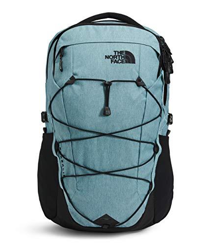The North Face Unisex Borealis Backpack Laptop Daypack RTO (Tourmaline Blue Dark Heather/tnf Black)