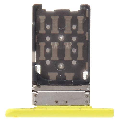 ZHANGJIALI Teléfonos Móviles Piezas de Repuesto La Bandeja de Tarjeta SIM del zócalo del Adaptador de reemplazo Holder Parte Tarjeta SIM for Nokia Lumia 1520 (Rojo) (Color : Yellow)
