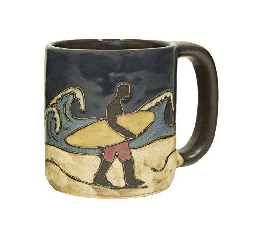 Mara Stoneware Mug - Surfer - 16 oz (1)