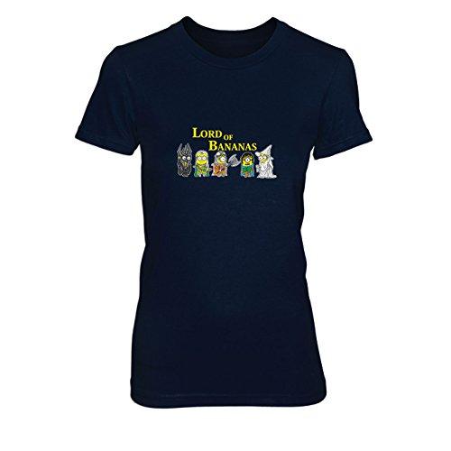 Lord of Bananas - Damen T-Shirt, Größe: L, dunkelblau