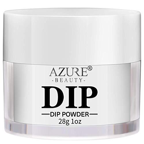AZUREBEAUTY 28g(1oz) Nail Dipping Powder Summer Gel Nail Clear Dipping...