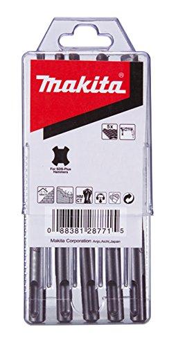 Makita P-29751 Boor, roestvrij staal, 5 stuks