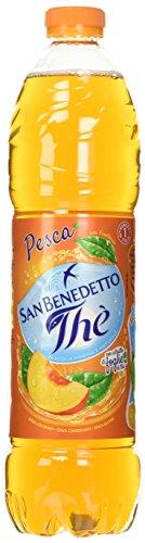 San Benedetto - The' alla Pesca, in Acqua Minerale Naturale - 1500 ml (Confezione da 6)