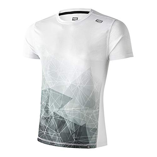 42K Running - Camiseta técnica Elements 100% reciclada Air Hombre S