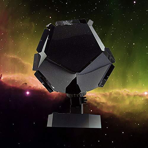 Projecteur original de planétarium à la maison de 60 000 étoiles pour la chambre, Lampe de nuit à projection de nuit Star Projector pour adultes et enfants