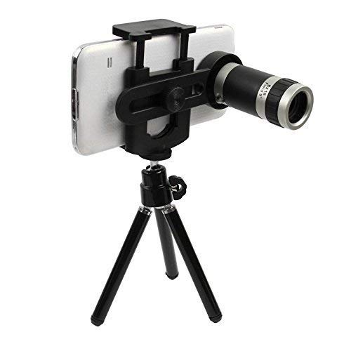 AYBOR 8X Mobile Blur Background HD Optical Zoom Telescope Lens kit for All Mobile Camera Blur Background Effect Macro Lens & Wide Angle Effect Lens