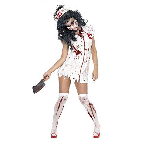 GGTBOUTIQUE Zombie-Krankenschwester-Kostüm Halloween (M)