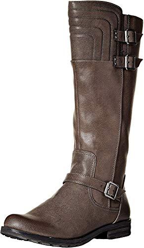 Price comparison product image SOUL Naturalizer Women's BIJOUX Mid Calf Boot grey 11 M US