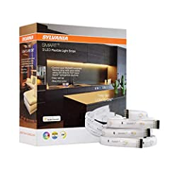 Apple HomeKit-enabled Light: Works with Apple HomeKit to support millions of colors and adjustable white color temperature ranging from 2700K to 6500K. No hub required for set up. Voice Control with Siri: Control your lights with voice integration th...