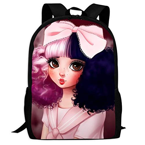 Me-lanie Mar-tinez Cry Baby Kids Backpack Cute Bookbag Durable Travel Backpacks School Bags for Boys Girls