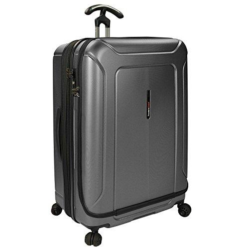 Traveler's Choice Juego de Equipaje de policarbonato y Cubos de Embalaje de Barcelona, Gris (Gris) - TC09043