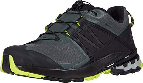 Salomon Herren Shoes Xa Wild Gtxurban Wanderschuhe, Mehrfarbig (Urban Chic/Schwarz/Nachtkerze), 43 1/3 EU
