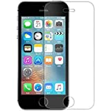 BK Jain Accessories Tempered Glass for Iphone 5S, Iphone 5S Temper Glass, Iphone 5S Screen Guard, Iphone 5S Tempered Glass (One Tempered Glass)