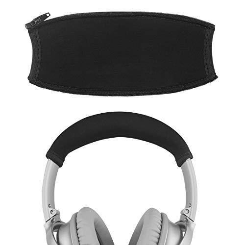 Geekria - Funda para auriculares Bose QuietComfort QC35, serie 2, QC25, protector de diadema, almohadilla de repuesto para reparación, fácil instalación, no necesita herramientas, color negro