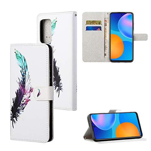 Yiscase Funda para Samsung Galaxy A52 5G de piel sintética, con tapa y tarjetero magnético para Samsung Galaxy A52 5G