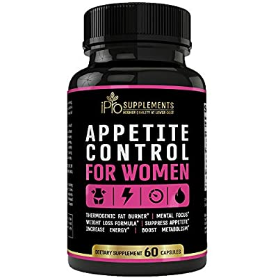 Appetite Control for Women- Weight Loss Diet Pills That Work Fast for Women - Thermogenic Fat Burning Pills for Women- Appetite Suppressant - Energy,Metabolism Booster - Belly Fat Burner for Women
