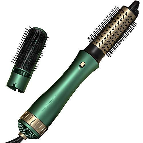Peine secador de iones negativos para rizar y alisar el cabello, soplando y peinando en un solo secador de pelo de salón de alta potencia