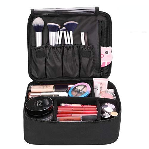 Grande Trousse De Toilette De Voyage,Portable Sac De Maquillage Multi-Usage,Pour Hommes Femmes Cosmétique Organiseur,Black