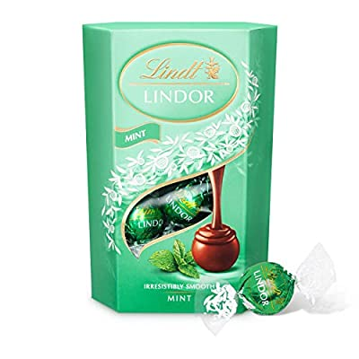 lindt lindor milk mint chocolate truffles box - approximately 16 balls, 200 g - the ideal gift - chocolate balls with a smooth melting filling Lindt Lindor Milk Mint Chocolate Truffles Box – Approximately 16 Balls, 200 g – The Ideal Gift – Chocolate Balls with a… 41ngrpXPbyL