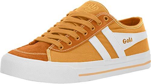 Gola Damen Cla667 Sneaker, Gelb (Sun/White YW), 38 EU