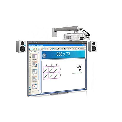 """Pizarra Interactiva SMARTBoard 480 77"""" + Proyector SMART V30 ( Corta distancia) XGA: 1024 X 768 + Altavoces + Instalación completa"""
