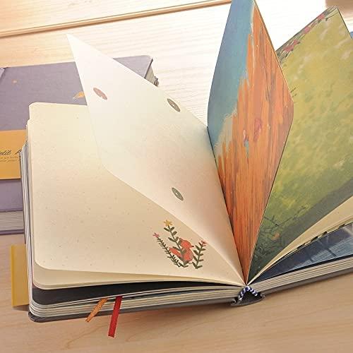 PPuujia Cuadernos, artículos de educación y oficina, cuadernos baratos, artículos de educación y oficina, cuadernos, (color verde)