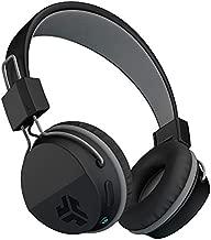 JLab Audio Neon Bluetooth Folding On-Ear Headphones | Wireless Headphones | 13 Hour Bluetooth Playtime | Noise Isolation | 40mm Neodymium Drivers | C3 Sound (Crystal Clear Clarity) | Black