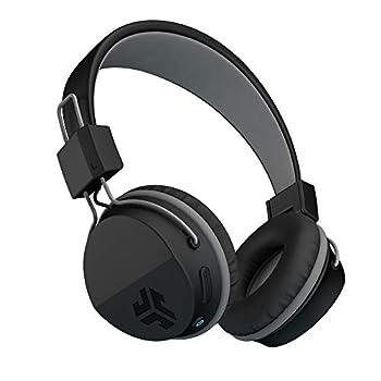 JLab Neon Bluetooth Folding On-Ear Headphones | Wireless Headphones | 13 Hour Bluetooth Playtime | Noise Isolation | 40mm Neodymium Drivers | C3 Sound  Crystal Clear Clarity  | Black
