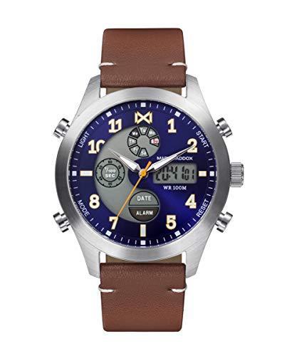 Reloj Mark Maddox Hombre HC1004-34 Analógico-Digital Colección Mission