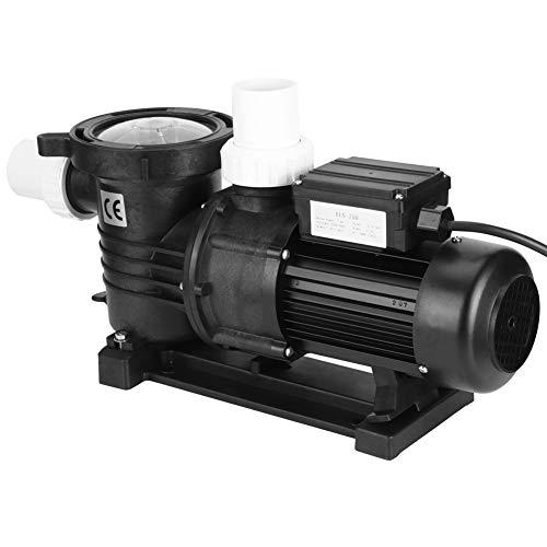 Bomba de Filtro de Piscina, 0,75 KW Kit de Bomba de Agua de Circulación de Alta Potencia, 16,5 m³ / H(220 V)