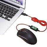 USB Beheizte Maus, Beheizte Computer Maus, Hand Wärmer (Schwarz) - 4