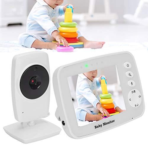 Monitor digital para bebés, vista de escaneo, visión nocturna, comunicación bidireccional, monitor inalámbrico para bebés, para bebés, hogar, mamá, bebé(European standard (100-240V), Transl)