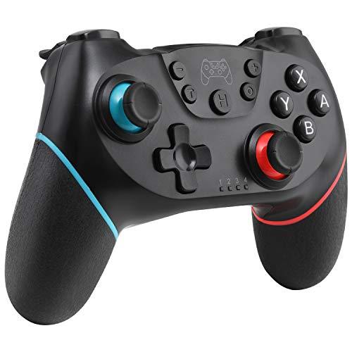 [versione aggiornata 2020] Wireless Switch Pro Controller per Nintendo Switch, Remote Pro Controller Gamepad Joypad, Joystick per Nintendo Switch Console