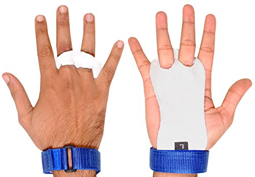ULTRA FITNESS Kids Children Sizes gymnastic leather palm hand grips...