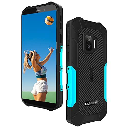 Rugged Smartphone Economici OUKITEL WP12 Pro,4GB +64GB Android 11 Dual SIM con NFC Cellulari Offerte,13MP+8MP Camera Schermo 5,5   Batteria 4000mAh IP68 Impermeabile Antiurto Telefono Resistente Blu