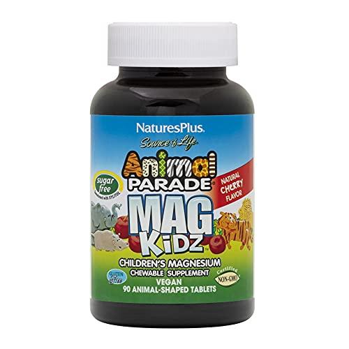 Natures Plus Suplemento Alimenticio Animal Parade MagKidz - 90 Comprimidos