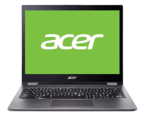 ACER portátil Chromebook SPIN 13,5' QHD Touch IPS - Core i5-8250U - 8 GB DDR3 - 128 GB SSD HDD - Intel HD - 802.11ac/b/g/n + BT- TPM - Wacom Stylus Pen - no ODD - Chrome Enterprise - Plata