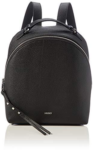 HUGO Damen Victoria Backpack Rucksack, Black1, Normal