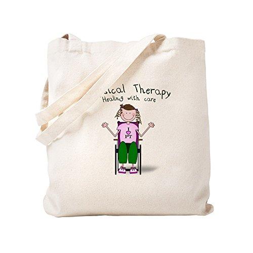 CafePress-physcial Therapie (Rollstuhl)-Leinwand Natur Tasche, Reinigungstuch Einkaufstasche Tote S khaki